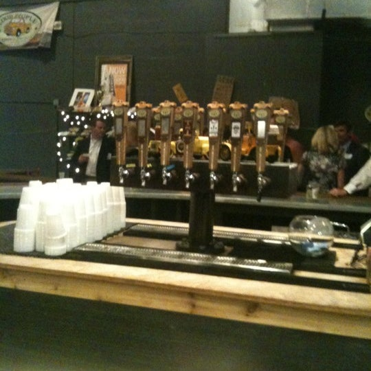 Photo taken at Good People Brewing Company by Wesley C. on 10/24/2012