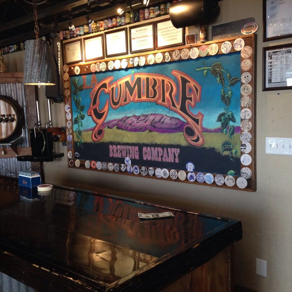 Photo taken at La Cumbre Brewing Company by Amee H. on 1/12/2015