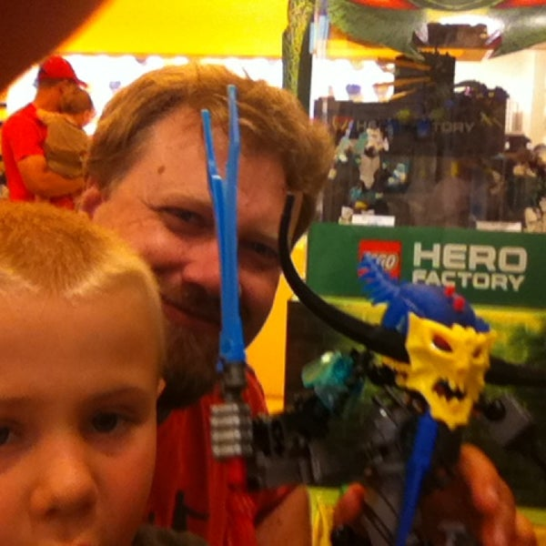 Photo taken at The LEGO Store by Rob B. on 7/13/2013