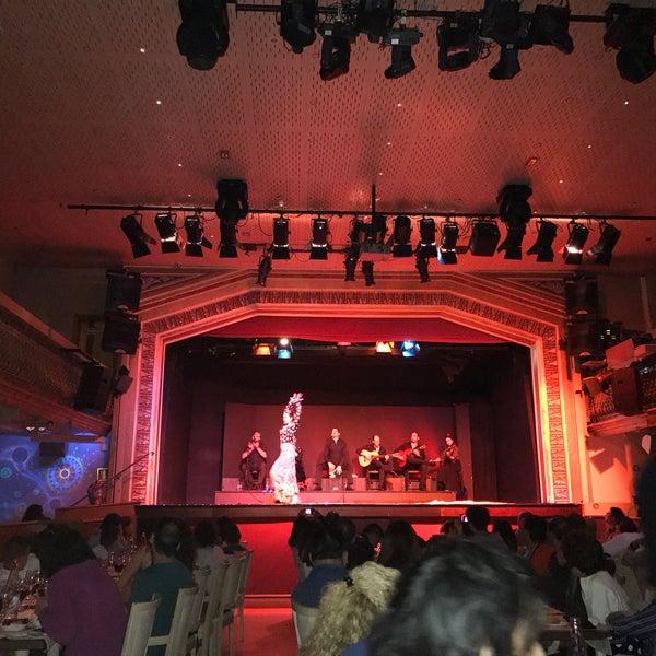 Photo taken at Palacio del Flamenco by İlknur P. on 5/11/2017