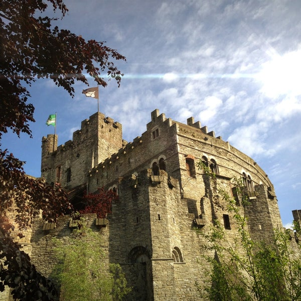 Photo taken at Castle of the Counts by Koen V. on 5/15/2013