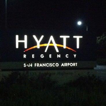 Photo taken at Hyatt Regency San Francisco Airport by Masashi S. on 10/8/2012