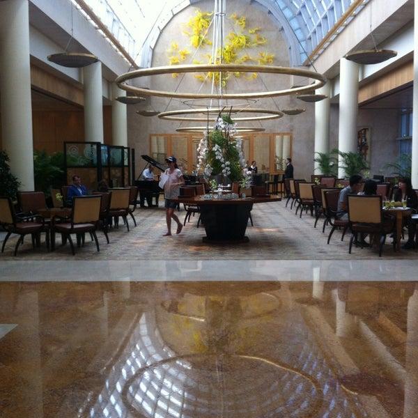 Photo taken at The Ritz-Carlton Millenia Singapore by Ziyad A. on 6/13/2013