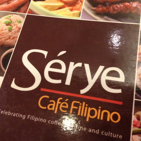 Photo taken at Sérye Café Filipino by Myla B. on 9/6/2013