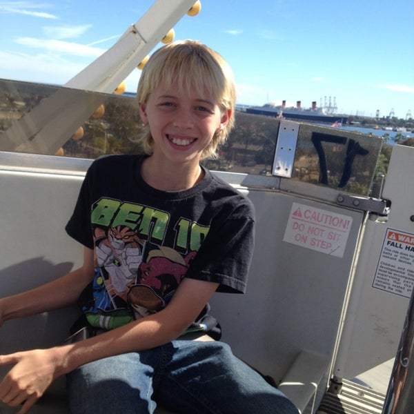 Photo taken at Ferris Wheel At The Pike by Melissa P. on 3/9/2014