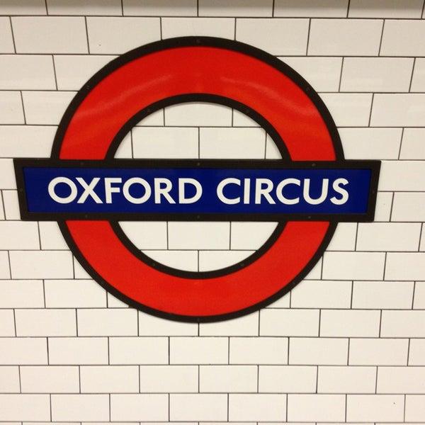 Photo taken at Oxford Street by Anthony V. on 1/27/2013