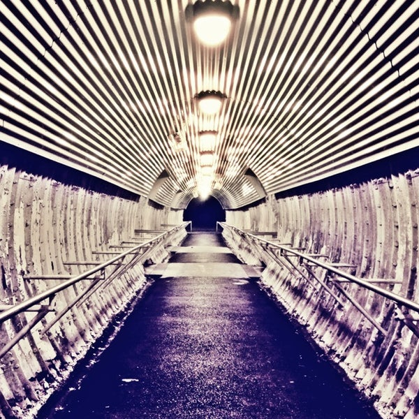 Photo taken at Metro North - North White Plains Station by A L E X on 11/21/2013