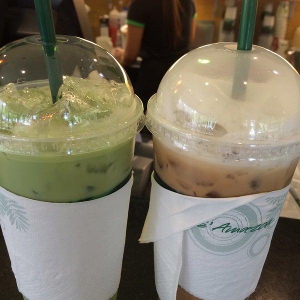 Photo taken at Café Amazon by Monnara M. on 7/9/2014