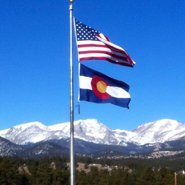 Photo taken at YMCA of the Rockies by Nick C. on 1/19/2013