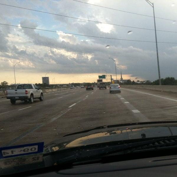 Photo taken at U.S. Highway 75 (US-75) by Elise D. on 10/12/2013