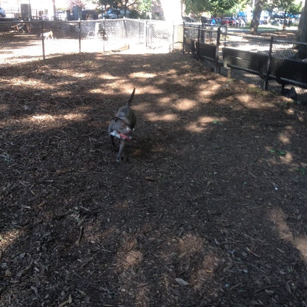 Photo taken at Marcus Garvey Park - Dog Run by Darryl J. on 8/18/2014