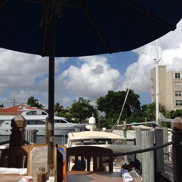 Photo taken at Bimini Boatyard Bar & Grill by Dana D. on 10/31/2013