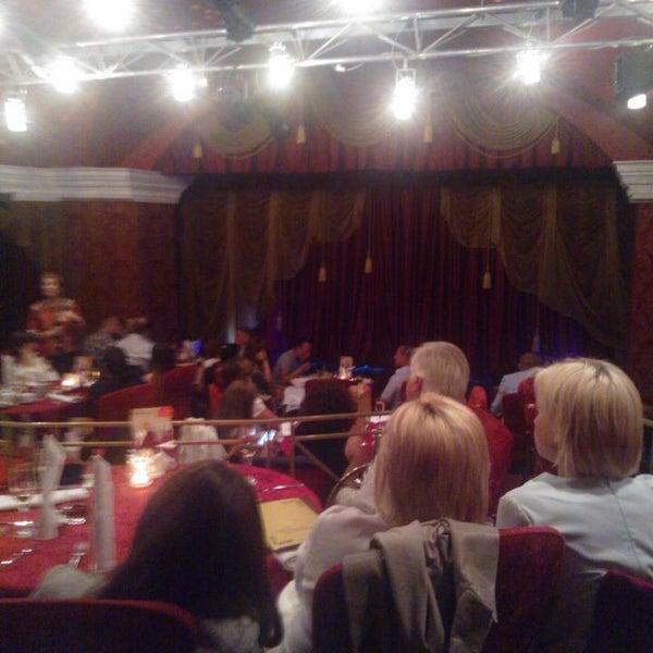 Снимок сделан в Театр-кабаре на Коломенской/ The Private Theatre and Cabaret пользователем Юлиана П. 8/5/2016