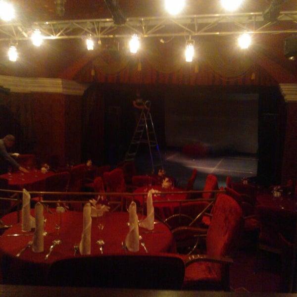Снимок сделан в Театр-кабаре на Коломенской/ The Private Theatre and Cabaret пользователем Юлиана П. 11/4/2016