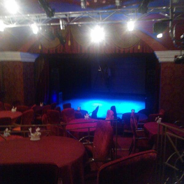 Снимок сделан в Театр-кабаре на Коломенской/ The Private Theatre and Cabaret пользователем Юлиана П. 9/16/2016