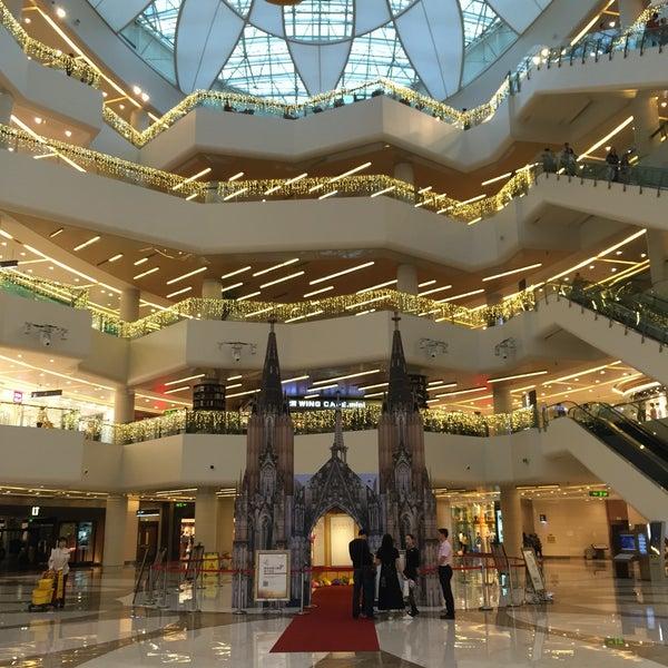 Photo taken at 银河国际购物中心 Galaxy Mall by Nelia K. on 5/2/2016