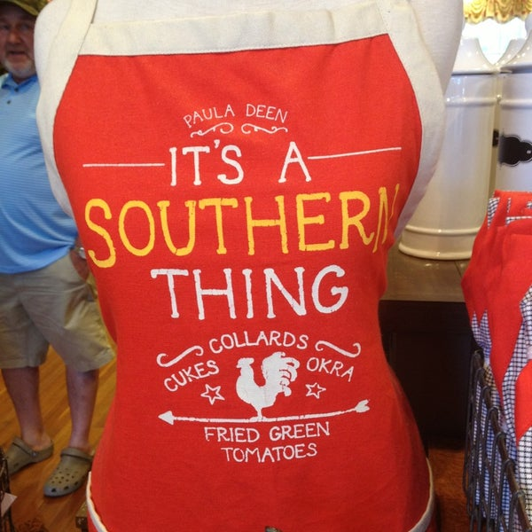 Photo taken at The Paula Deen Store by Joseph V. on 8/2/2013