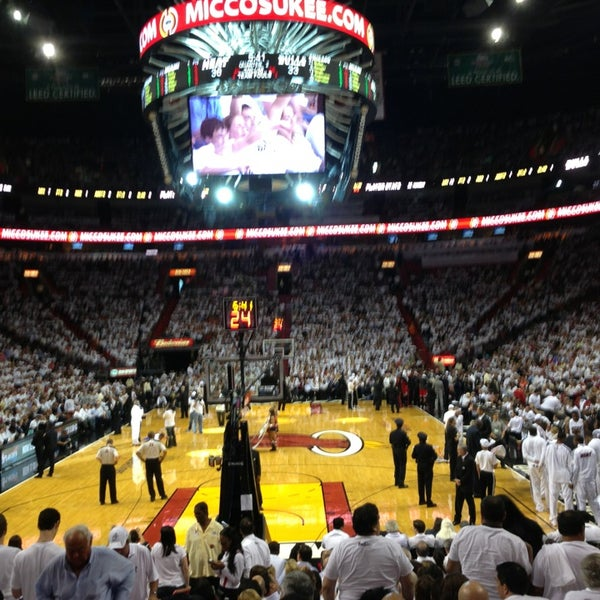Photo taken at American Airlines Arena by Dany M. on 5/15/2013