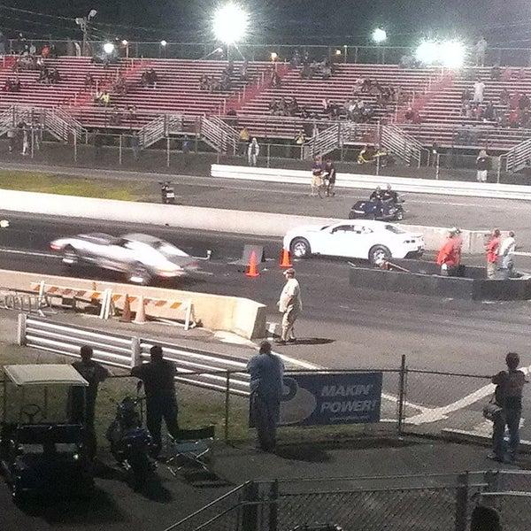 Photo taken at Atco Raceway by Shaq C. on 8/3/2014