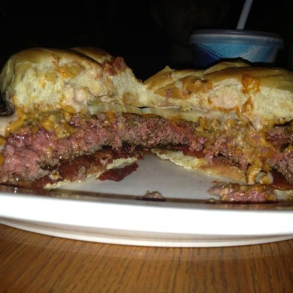 Photo taken at Ray's Hell Burger by BillysBurgerBlog.com on 6/9/2013