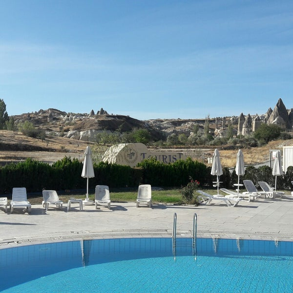 10/7/2017 tarihinde Yalçın Ç.ziyaretçi tarafından Tourist Hotels & Resorts Cappadocia'de çekilen fotoğraf
