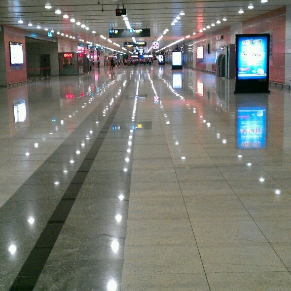 Photo taken at Istanbul Sabiha Gökçen International Airport (SAW) by Bilal B. on 11/2/2013