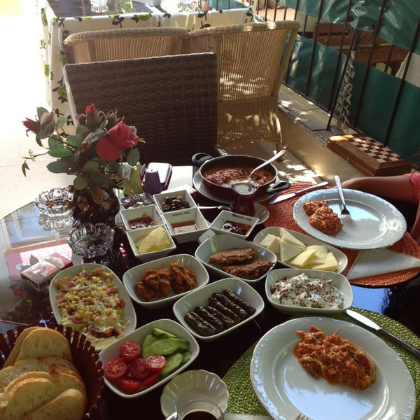 Photo taken at Sevgi Cafe by Filiz 😊 on 6/23/2013