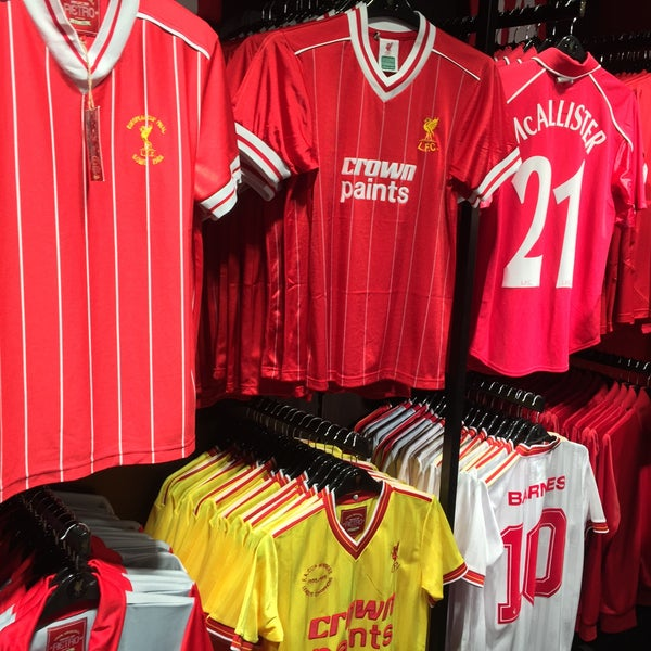 Photo taken at Liverpool FC Official Club Store by Paul F. on 8/12/2015