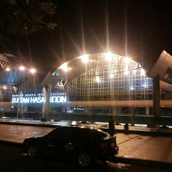 Photo taken at Sultan Hasanuddin International Airport (UPG) by Irsan T. on 6/6/2013