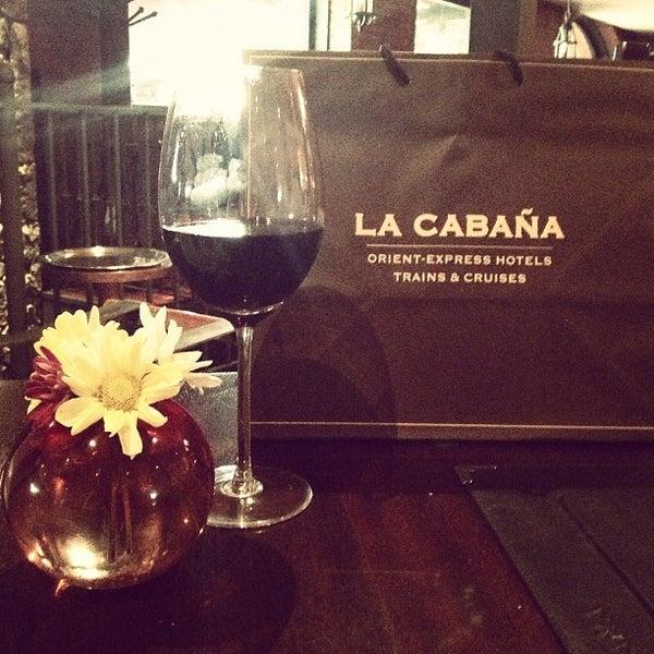 Photo taken at La Cabaña by Adriana S. on 12/15/2012