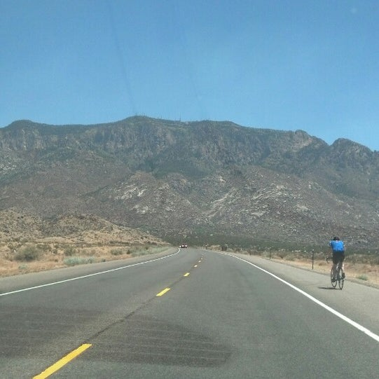 Photo taken at La Luz Trailhead by Luis P. on 6/1/2013