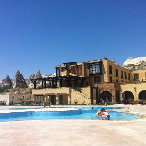 7/6/2013 tarihinde TC Erkan A.ziyaretçi tarafından Tourist Hotels & Resorts Cappadocia'de çekilen fotoğraf