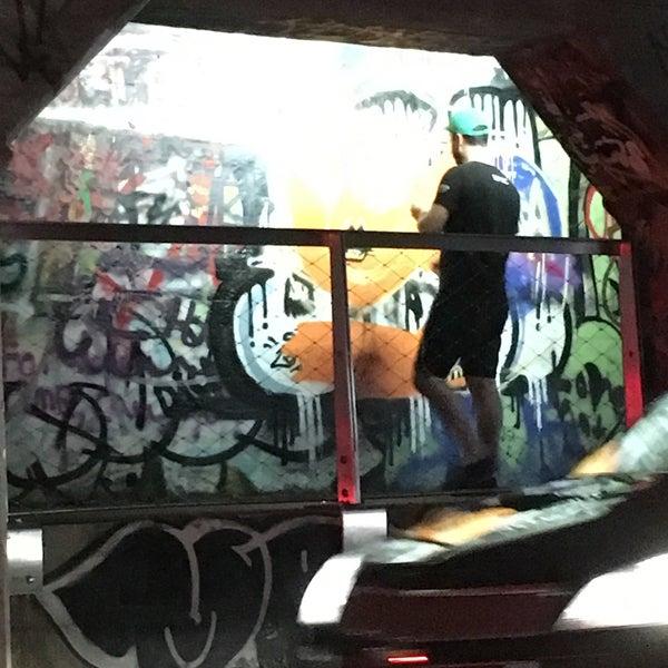 Photo taken at Krog Street Tunnel by Nadine on 8/19/2017