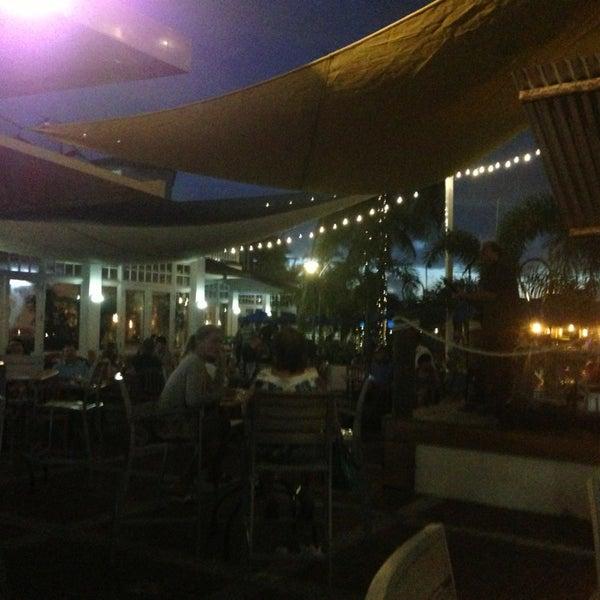 Photo taken at Bimini Boatyard Bar & Grill by Tom T. on 7/7/2013