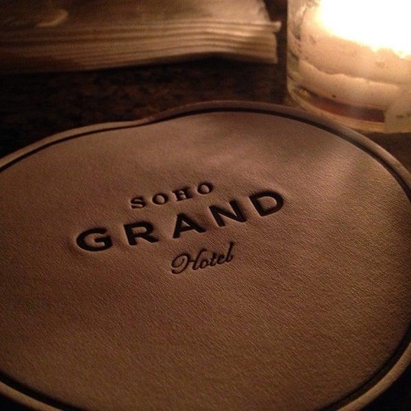 Photo taken at Soho Grand Hotel by Bergdorf Goodman on 6/7/2013