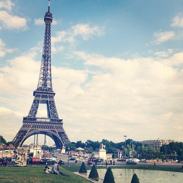 Photo prise au Place du Trocadéro par Javor A. le5/31/2013