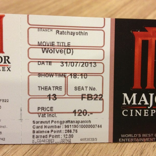 Photo taken at Major Cineplex Ratchayothin by  Dragon . on 7/31/2013