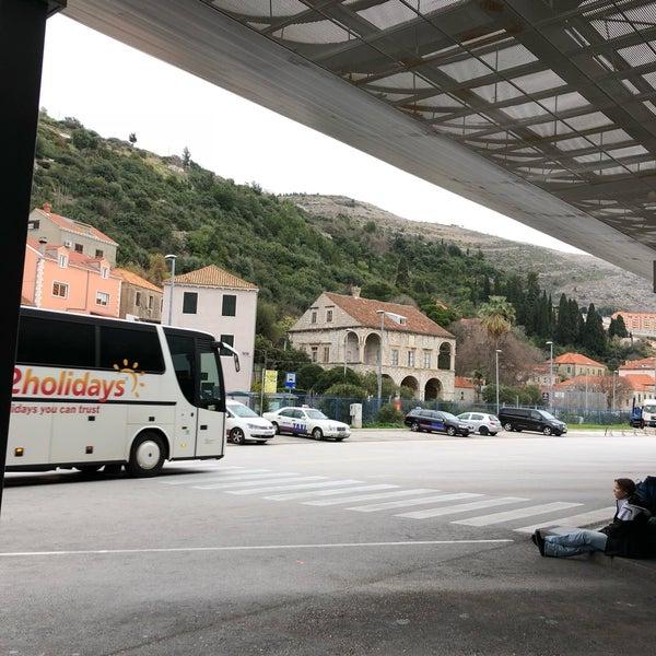 Photo taken at Autobusni Kolodvor Dubrovnik | Dubrovnik Bus Station by Koji O. on 1/1/2018