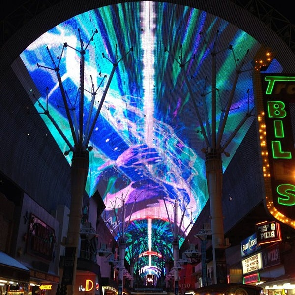 Photo taken at Fremont Street Experience by Anh P. on 1/11/2013