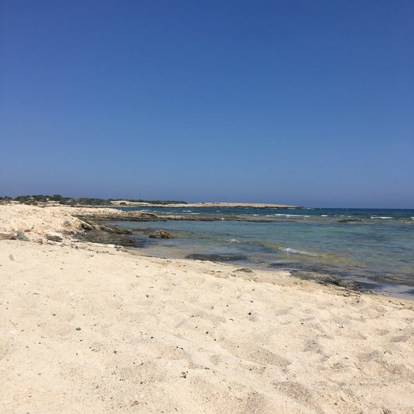 Photo taken at Makronissos Beach by Adamos C. on 6/17/2017