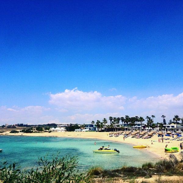 Photo taken at Makronissos Beach by Екатерина С. on 5/30/2017