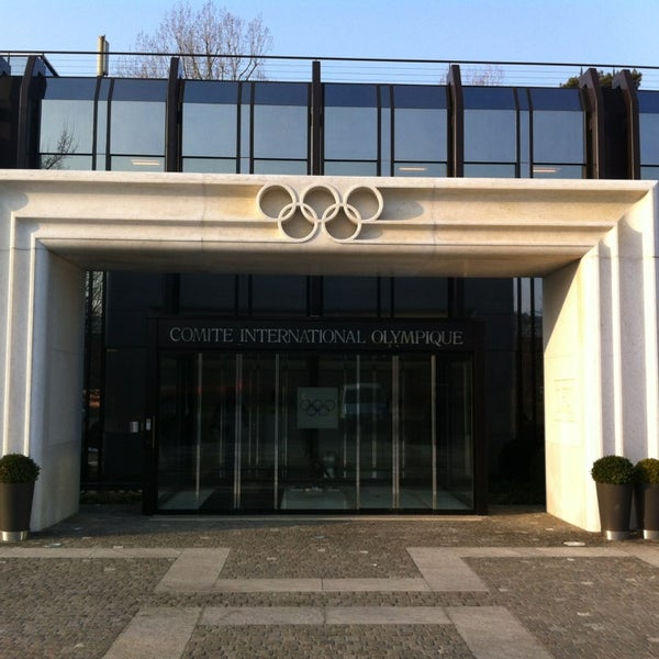 Photo taken at International Olympic Committee by Emaehl on 2/26/2013