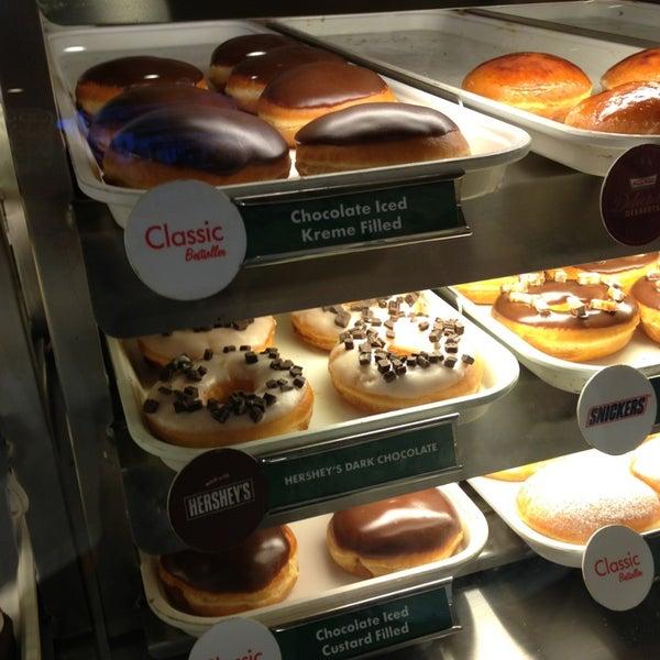 Photo taken at Krispy Kreme by April Maye P. on 8/15/2013