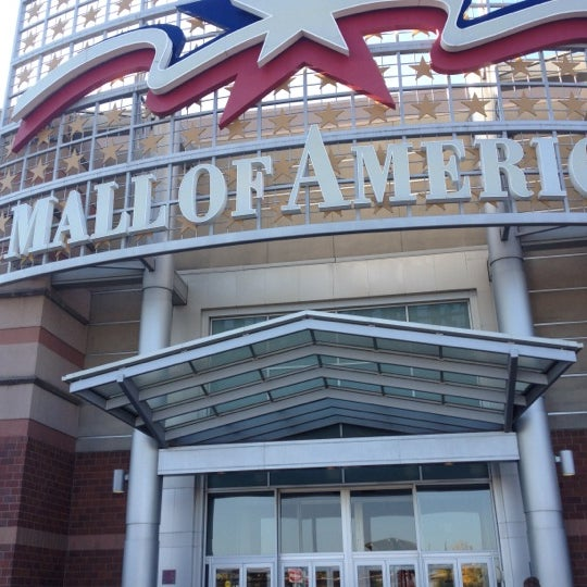Photo taken at Mall of America by Johnn D. on 10/3/2012