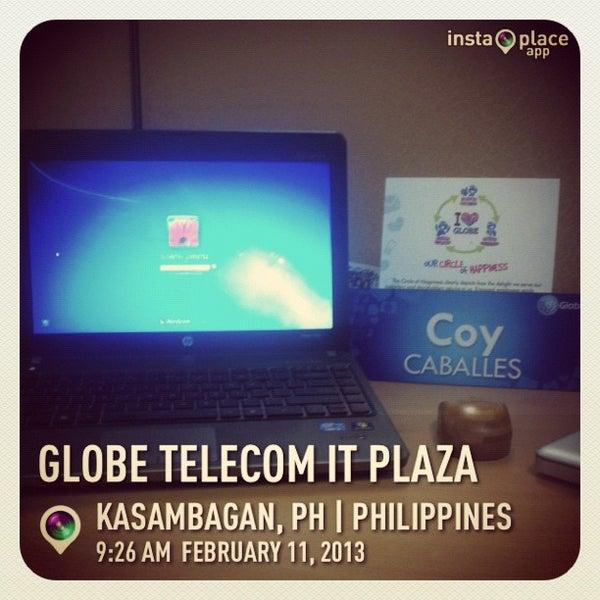 Photo taken at Globe Telecom IT Plaza by Coy C. on 2/11/2013