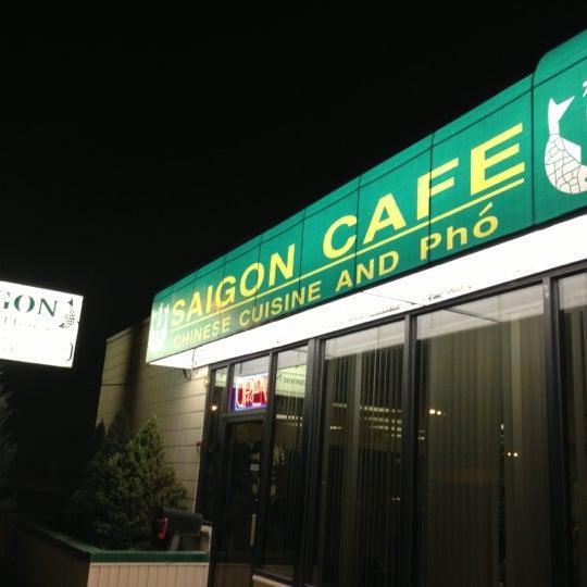 A Saigon Cafe Menu