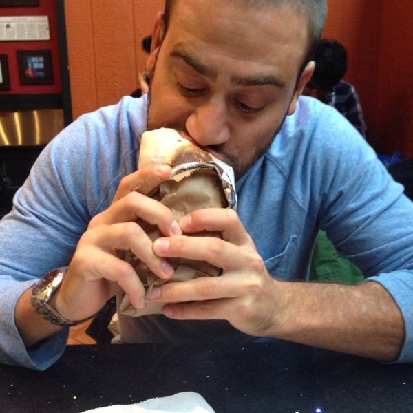 Photo taken at Burrito Boyz by Ade L. on 10/5/2013