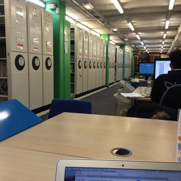 Photo taken at Northumbria University Library by Khairunnisa A. on 3/7/2016