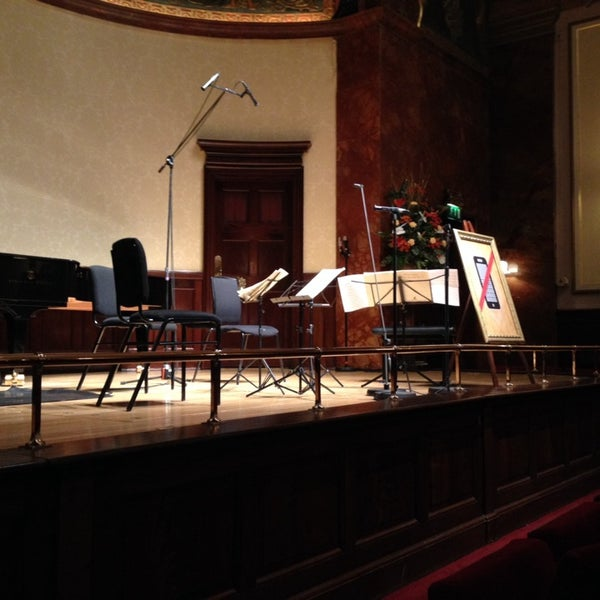 Photo taken at Wigmore Hall by Kaz Y. on 12/3/2013