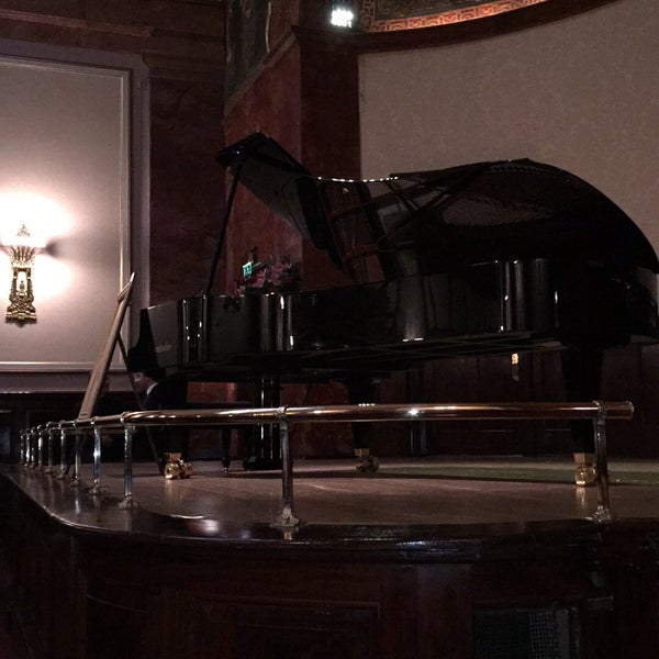 Photo taken at Wigmore Hall by Kaz Y. on 4/6/2016